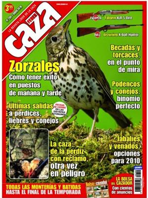 Feder Caza es la revista de caza líder de difusión. Toda la actualidad del mundo de la caza y reportajes con espectaculares fotografías de caza menor, caza mayor, especies, naturaleza, armas y productos.