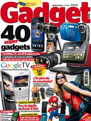 Gadget es la revista más práctica sobre dispositivos electrónicos de consumo. El escaparate de productos tecnológicos más completo, con todas las novedades del mercado, en sus distintas categorías: tablets, MP4, cámaras de fotos y vídeo, móviles...