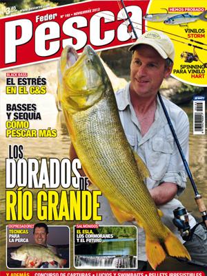 Feder Pesca es la revista de pesca de interior líder de mercado en venta de ejemplares. Feder Pesca ofrece la mejor información en destinos de pesca en España y en el extranjero.