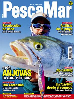 Feder Pescamar es la revista líder del pescador de litoral. Artículos de técnicas de pesca, últimas tendencias en diseño de aparejos, cebos, nuevos productos, noticias del sector, medio marino, biología de las especies...