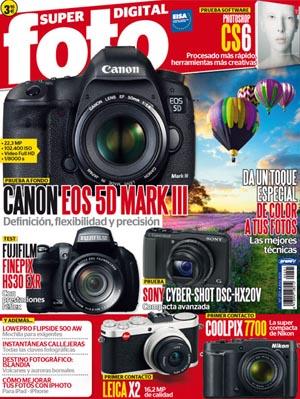 La revista nº1 en fotografía, Super Foto, te ofrece toda la actualidad y las novedades del mundo de la fotografía. Además análisis y evaluación de productos digitales y analógicos, fotografía de naturaleza, viajes fotográficos, guías prácticas...