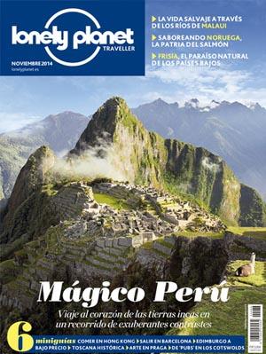 Lonely Planet Traveller representa una aproximación fresca y moderna a las revistas de viajes, con textos innovadores y fotos espectaculares.