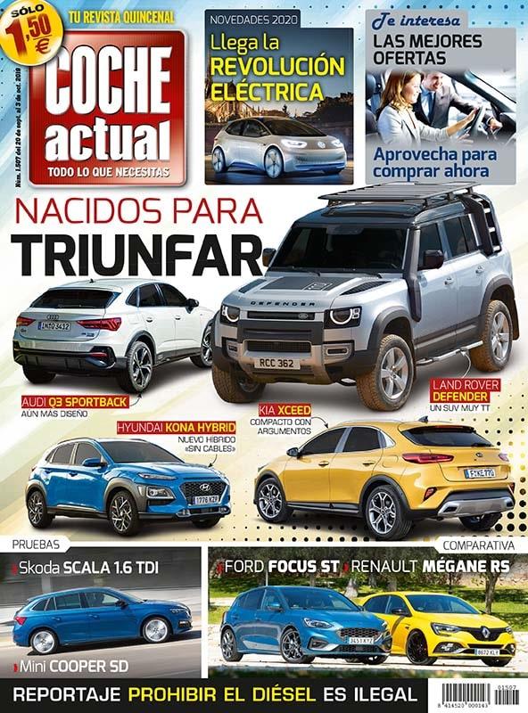 Coche Actual es la revista quincenal del motor que da al usuario las mejores claves para conocer mejor su coche. Guía y aconseja al lector para obtener el mejor servicio a la hora de la compra de su vehículo.