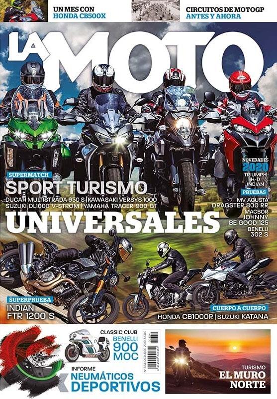 La revista La Moto es el mensual del motorista. En sus páginas encontrarás pruebas a fondo, reportajes especiales de técnica de la moto, equipamiento, secciones de turismo y grandes viajes, el deporte de MotoGP y de Superbike analizado por grandes especialistas y mucho más.