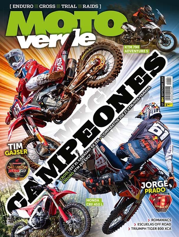 Los aficionados a la moto de campo y el off road necesitaban una revista exclusiva como Moto Verde.