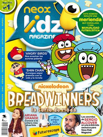 Es una revista de gran formato de periodicidad trimestral, dirigida a los jóvenes lectores, niñas y niños, seguidores de los espacios de programación infantil emitidos por Atresmedia.